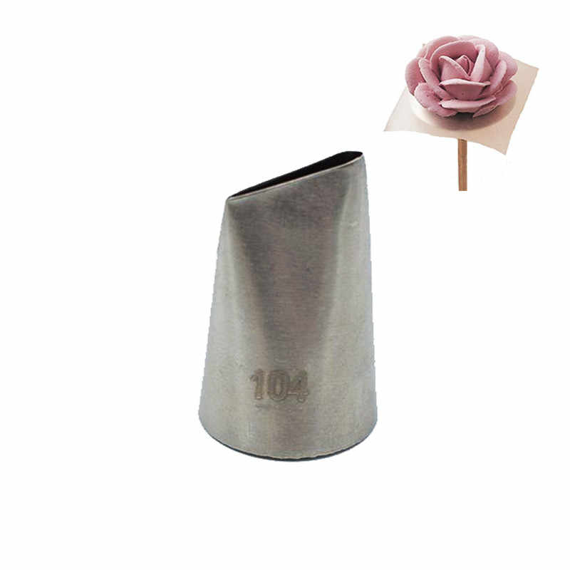 BYFRI 1pc Large Size Icing Piping Nozzles Premium 304 Stainless Steel Cake Cream Decoration Kitchen Pastry Tips
