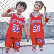 eef9e667f8 Conjunto de ropa para niños, educación primaria y secundaria, ropa de  baloncesto para niños