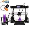 Anet A8 Auto Level 3D Printer Big Size 220 220 240mm High Precision Reprap Prusai3 Three