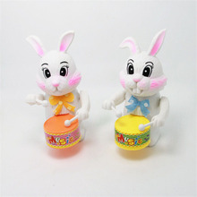 Wind-Up Rabbit Drummer Clockwork for Toddlers & Kids – Educational Toy