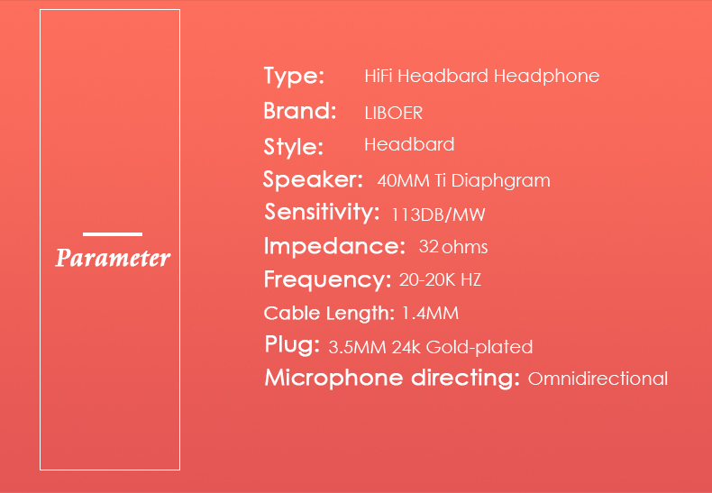 Liboer Headphones Wired On-ear Stereo Headphones for Mobile Phone Best Foldable Headset High Quality Rose Gold Headphone _09