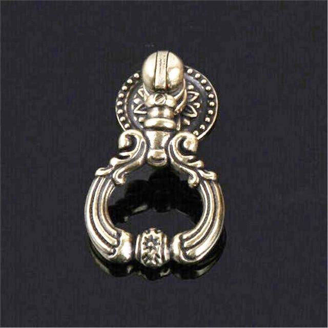 Megairon Antique Bronze Door Knobs Cabinet Zinc Handles Drawer Pull