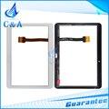 5 unids para samsung galaxy tab 4 10.1 sm-t530 t531 t535 T530 touch panel frontal de cristal digitalizador de pantalla lcd con el envío libre