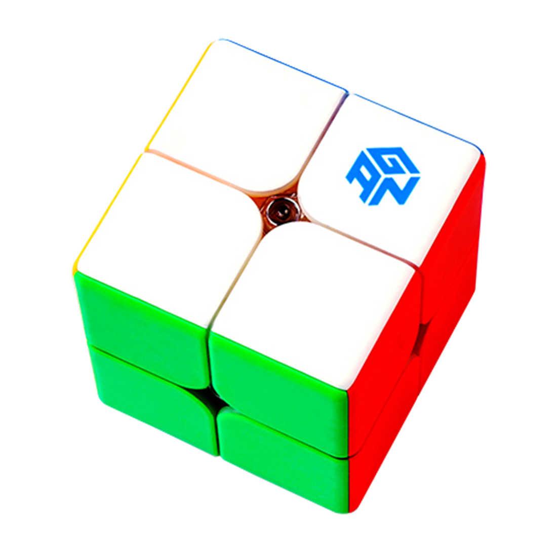 Ган 249 V2 M 249 м Магнитная Cube Stickerless Magic Cube 2x2x2 Скорость головоломки конкурс игрушка cubo WCA чемпионата 2x2 по магниты