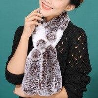2013 New Real Rex Rabbit Fur Neck Fashion Charm Warmer Scarf Wrap Cape Shawl Stole Poncho