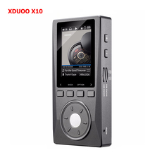 XDUOO X10 Original Portable High Resolution Lossless DSD Music Player DAP Support Optical Output  2.0″ Screen 256G MP3 Player