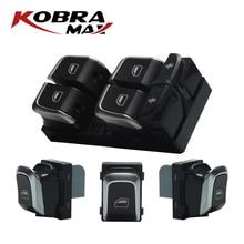 KobraMax Master Switch Window Button 4GD959855 Fits For A5 A4 Allroad Quattro B8 Q5 Car Accessories