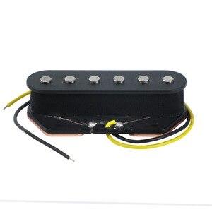 Image 2 - FLEOR Vintage Alnico 5 guitarra eléctrica sola bobina Pickups Tele Bridge & Neck Pickup Alnico V Tele Pickups Set guitarra piezas