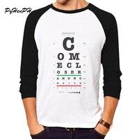 Newest Brand T Shirt Men Full Sleeve O Neck T Shirt For Male Cool Letter Print