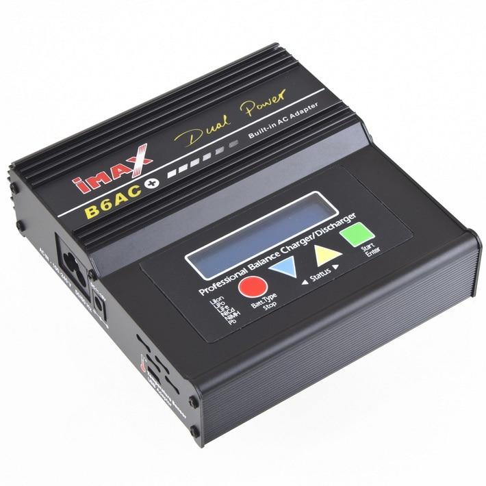 Battery Charger Imax B6AC + B6AC+ LiPo/Li-Ion/LiFe/NiMH/Nicad/PB RC Balance Charger New+free shipping original ev peak d1 yuneec typhoon q500 charger intelligent balance battery charger free shipping