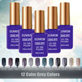 Esmalte Ongle Gel Len Nail Gel Polish 15 ml Mood Gel Varnish Magnetic Color Nail Lacquers Soak Off  Spray Gels Camouflage