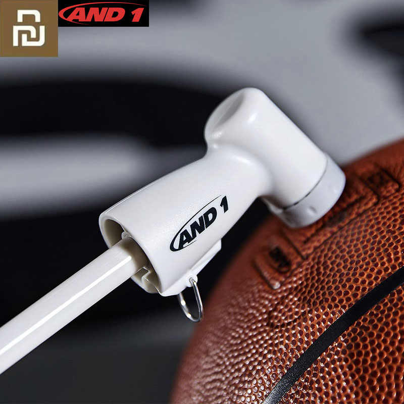 Xiaomi Mijia And 1 Fast Portable Hand Air Pump Outdoor Sport Football Soccer Basketball Ball Inflating Portable Pump For Ball