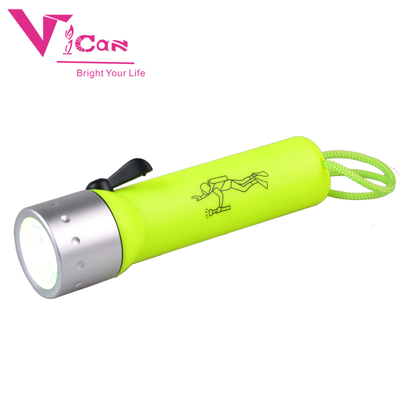 High Quality Underwater 1200LM LED Diving Flashlight Torch Lamp Light Waterproof