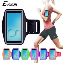 Correndo Jogging titular Bag Capa Ginásio de Esportes Arm Band Caso Do Telefone Para Samsung Galaxy On5 On7 Prime Pro On6 On8 2018 2016 em Nxt(China)