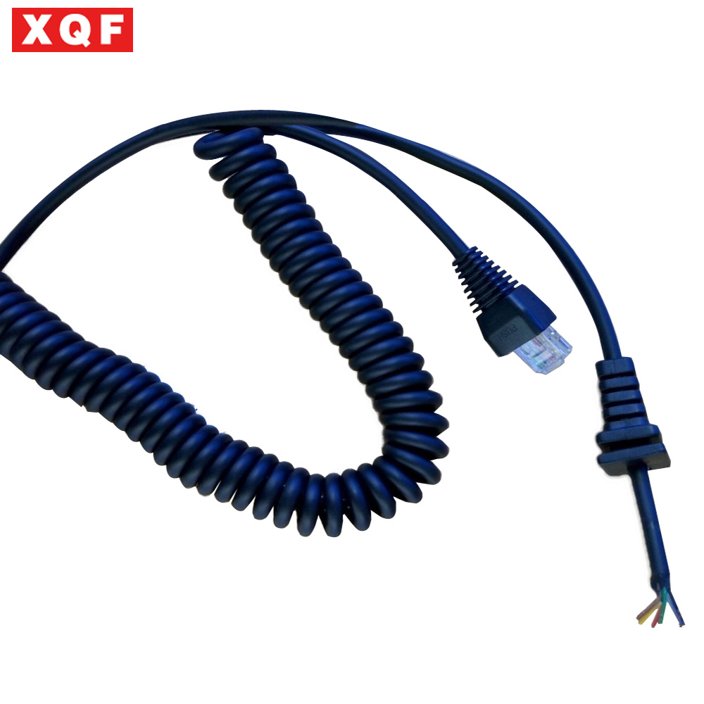 Mic Yaesu Wiring Tf401b  Mic Microphone Cord Cable For