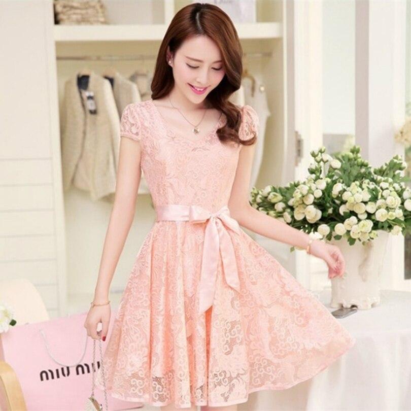 Online Get Cheap Korean Summer Dresses -Aliexpress.com  Alibaba Group