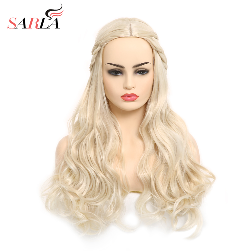 Daenerys Targaryen Cosplay Synthetic Wig Long Wave Curly ...