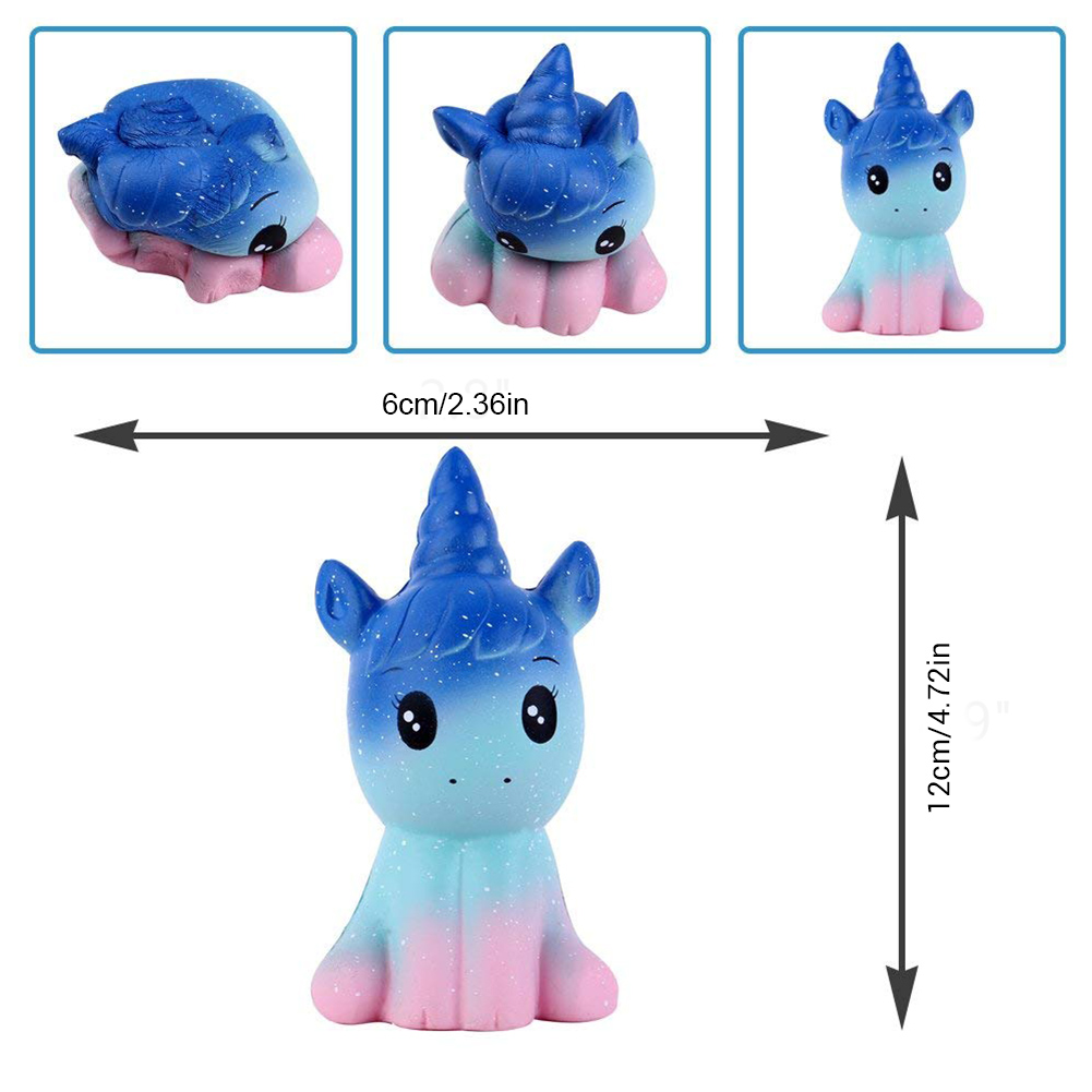 Decompression Toy Relief-Toy Unicorn Stress Squishe Squeezing Animal Rebound Slow Cartoon img2