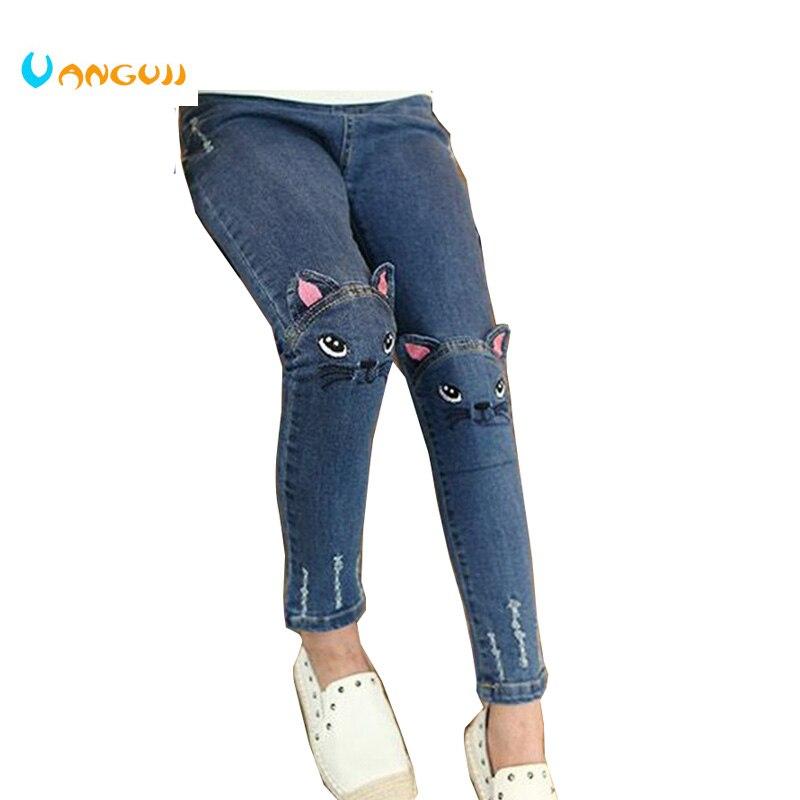2018 Frühling und Herbst heißen Kindermode Slim Jeans 3-9 Jahre - Kinderkleidung - Foto 2