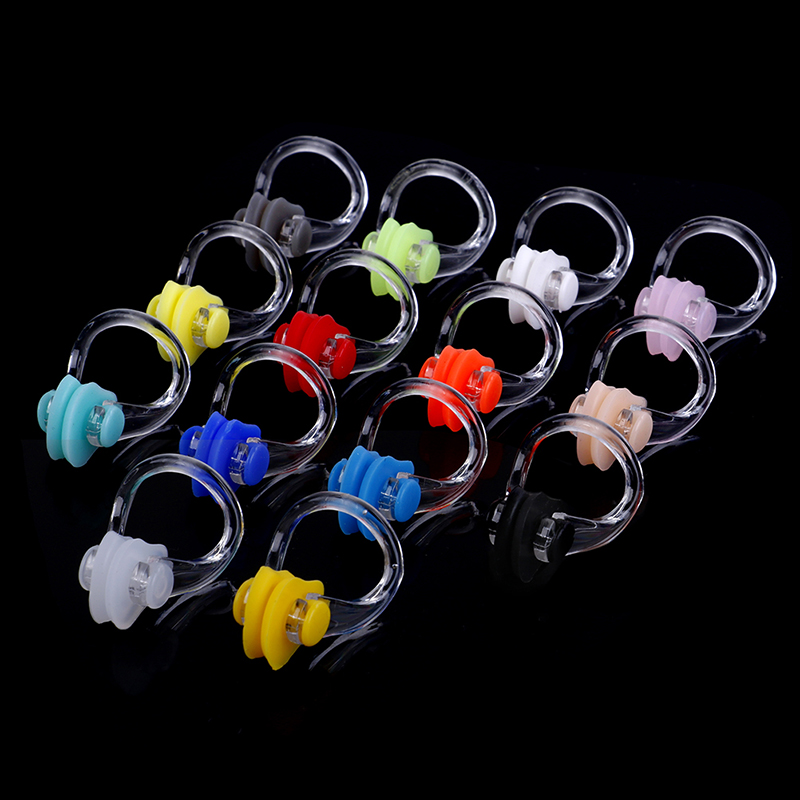 1pair Soft Waterproof Swimming Earplugs Nose Clip Case Protective Prevent Water Protection Ear Plug Soft Swim Dive Supplies