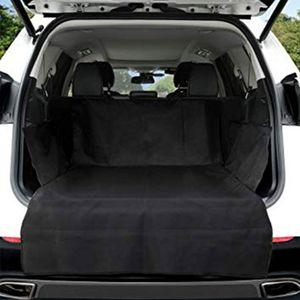 Автомобильный коврик для багажника питомца брезент водонепроницаемый Оксфорд ткань собака кошка Чехлы на заднее сиденье задний автомобил...