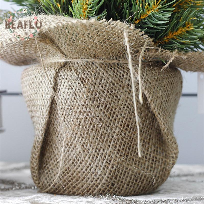1Set Μίνι πράσινο τεχνητό φυτό - Προϊόντα για τις διακοπές και τα κόμματα - Φωτογραφία 5