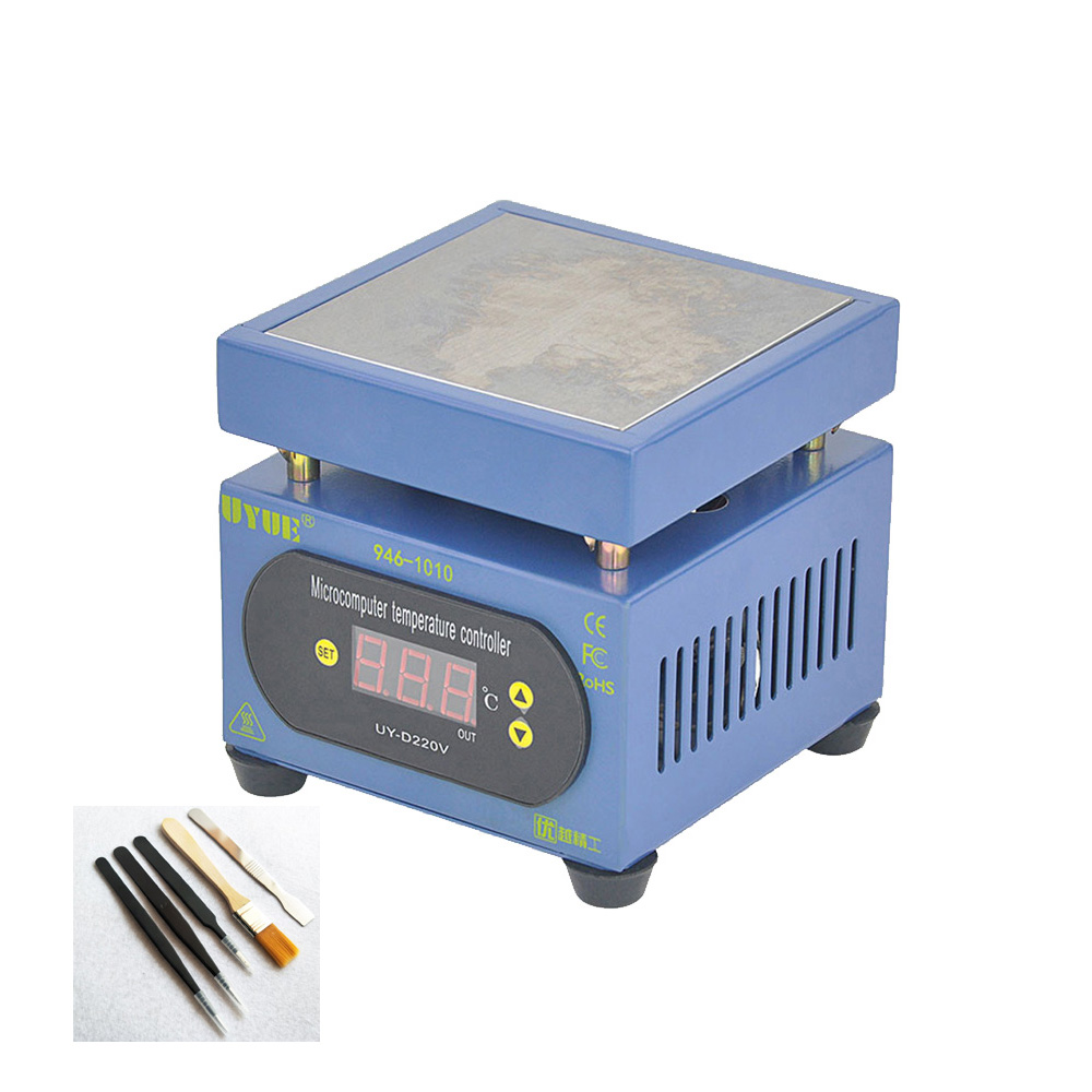 Constant Temperature Heating Table PCB Plate Preheating Station LED Display Preheating Platform For Mobile Phone Repair