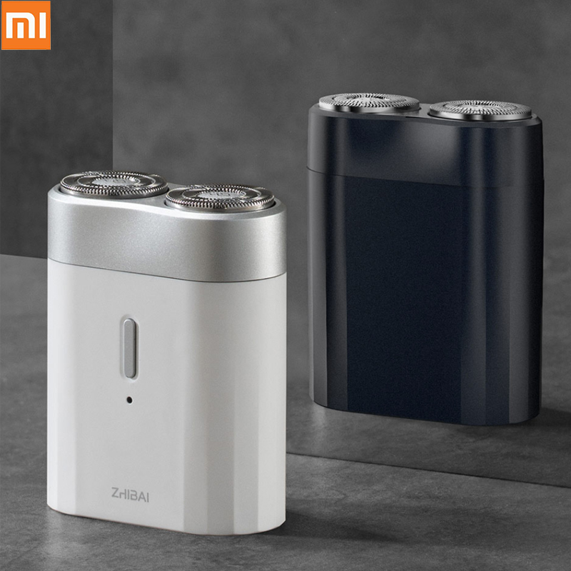 Xiaomi Mijia Men Electric Razor Wet/Dry Shaving Rechargeable Mini Body IPX7 Waterproof Moto Razor Head Replacement H20