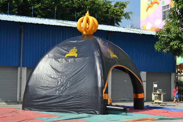 small black inflatable tent for show & small black inflatable tent for show-in Toy Tents from Toys ...