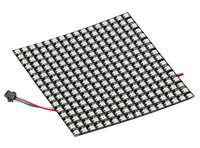 Aihasd WS2812B 5050 16x16 RGB Flexible LED Panel Matrix Individually Addressable Programmable Pixel Display Screen DC 5V