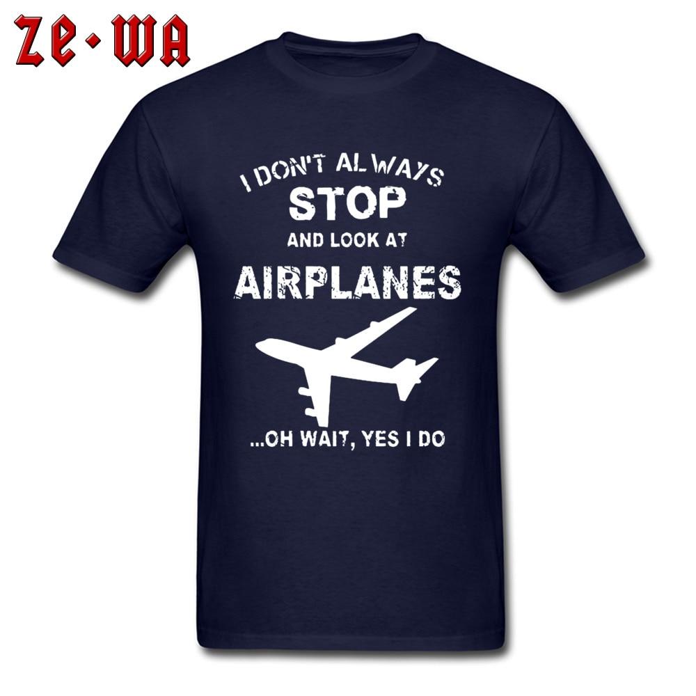 Retro Airplane Design T Shirt Biplane Aircraft Plane Great Tshirts Printing Top Quality Sweatshirt Street Tee-Shirt Father's Day