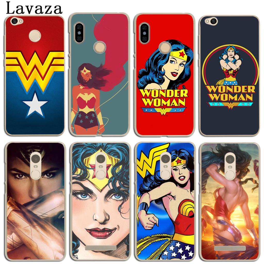 Lavaza dc Wonder Woman Co mi cs телефон чехол для сяо mi красный mi 4X mi A1 6 5 5X 5S плюс Примечание 5A 4A 2 3 3 s 4 Pro премьер 4X mi A1 mi 6