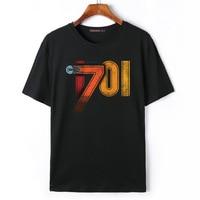 Flevans hombres Star Trek impreso T Camisas Verano de manga corta o-cuello hombres Camiseta de algodón Marca Ropa