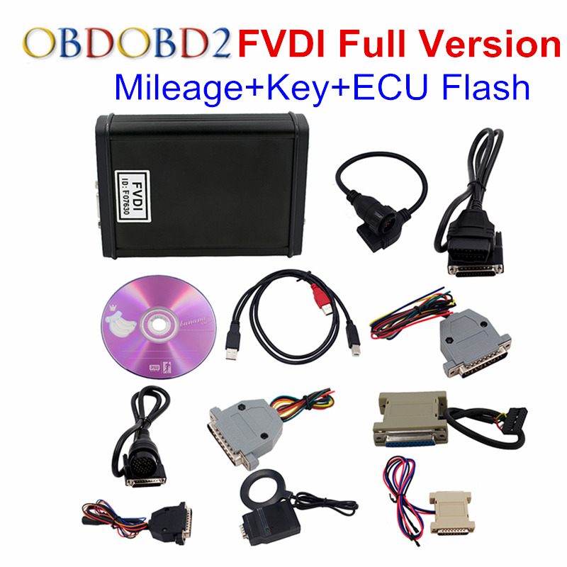 US $227 05 |New Arrival FVDI 2018 ABRITES Commander FVDI Full Version  Including 18 Software FVDI 2015 Unlock Version OBD2 Diagnostic Scanner on