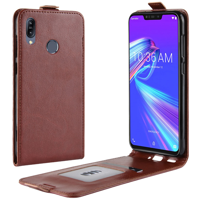 Asus Zenfone Max M2 ZB633KL Case Cover Original Leather Case Protective Shell Funda For Asus ZB633KL Flip Cases 6.3 inch
