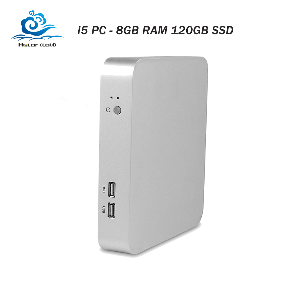 HLY i5 PC Mini PC Core i5 7200U 6200U DDR3L RAM 8GB Mini Computer Windows 10 Computer PC USB3.0 run 1TB HDD Wifi gift