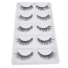 5 Pair/Lot Crisscross False Eyelashes Lashes Voluminous HOT Eye Lashes Party Makeup FEB3