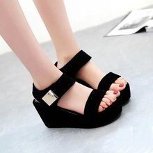 Zapatos Mujer 2016 New Summer Rome Mules Simple Retro Punk Trend Platform Sandals Cozy Women's Fretwork Slippers Free Shipping