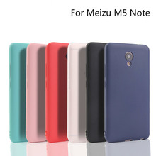 Xindiman silicone Soft TPU cover for M5Note case ultra thin matte plain soft backcovers Meizu M5 Note M6 note Case