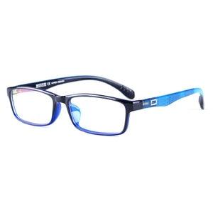 Image 1 - Toptical Ultra light TR90 Glasses Full Frame Square Eyeglasses Myopia Plain Eyewear Male Women Brand Design