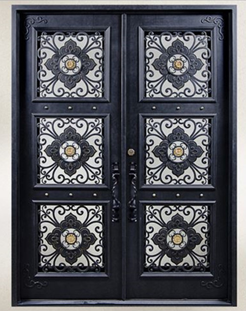 Hench 100% Steels Metal Iron Iron Front Doors For Sale