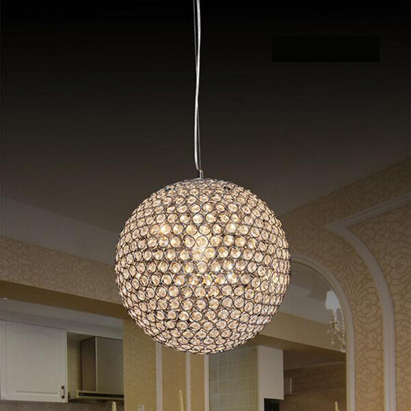 crystal Pendant Lights festival lights residential lighting bedroom luxury hotel restaurant bar ball crystal Pendant lamps SJ59