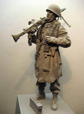 1/16 3rd Fallschirmjager Division Resin Figure Soldiers GK Military Subject Matter WWII Uncoated No Colour
