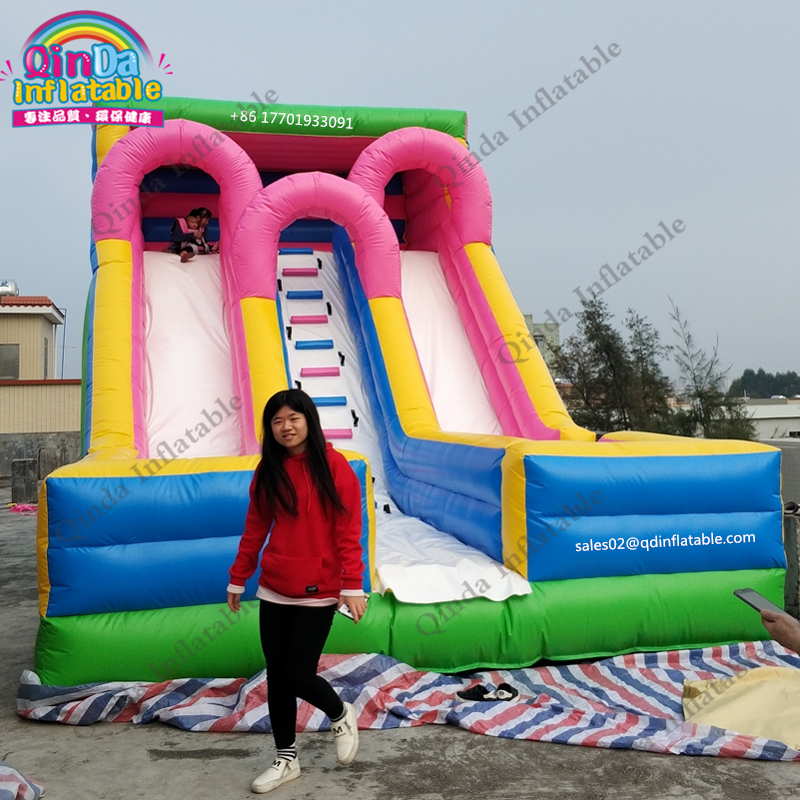 8 m*4.5m*5 m Jumping inflatable slide for adult and kids bouncy slide children playground equipment sport game slides inflatable slide with pool children size inflatable indoor outdoor bouncy jumper playground inflatable water slide for sale
