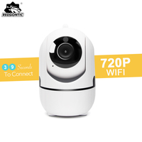 Mini Wireless IP Camera HD 720P Wifi IP Camera P2P Night Vision Cameras PTZ Motion Detection