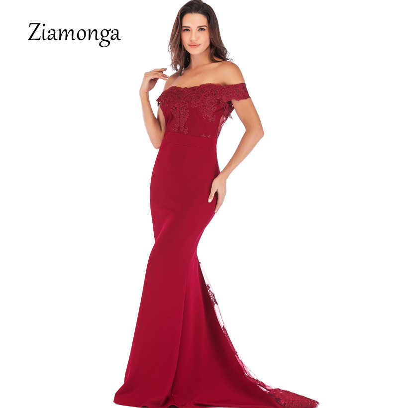 Ziamonga Evening Mermaid Dress Strapless Cap Sleeves Pink Lace Long Cheap  Bridesmaid Maxi Dresses Under 50 Wedding Party Dresses-in Dresses from  Women s ... 9d451dfec6f