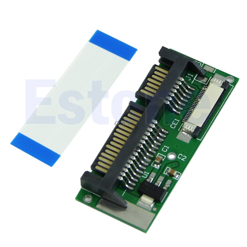New High Quality 24-Pin ZIF To SATA Adapter Connector Card