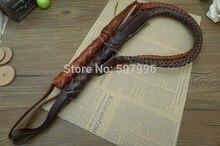 Coachwhip хлыстом кнут латекс езда натуральная трикотажные работы качества высокого ручной
