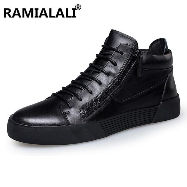 ビッグサイズ45 46冬男性ブーツ本革男性ブーツ黒冬男性靴アンクルブーツ用男性リアルレザーシューズ