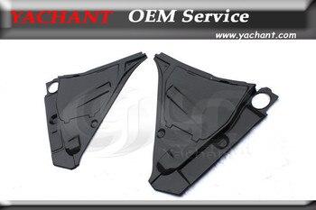 Auto-Styling In Fibra di Carbonio Finitura Lucida Interior Trim Copertura 5 Pz Fit per 08-13 R35 GTR JDM Freno Fuild & Copertura di Batteria Completa kit